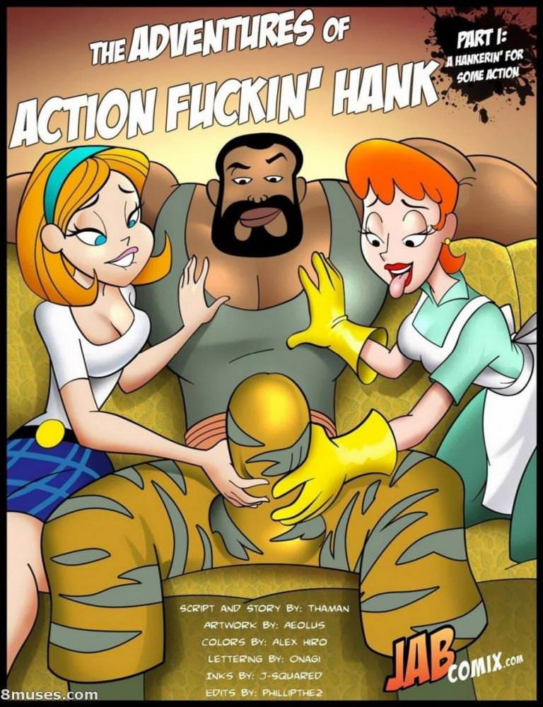 Jab Comix – Adventures of Action Fuckin Hank