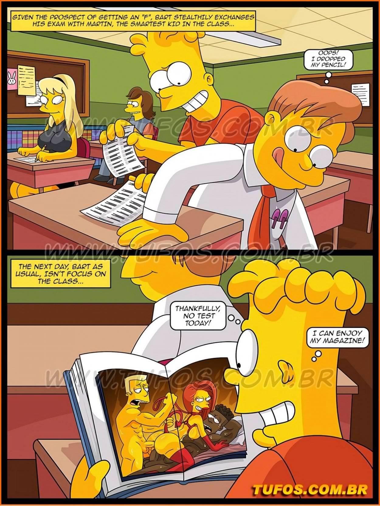 Porno die comic simpsons Popular XXX