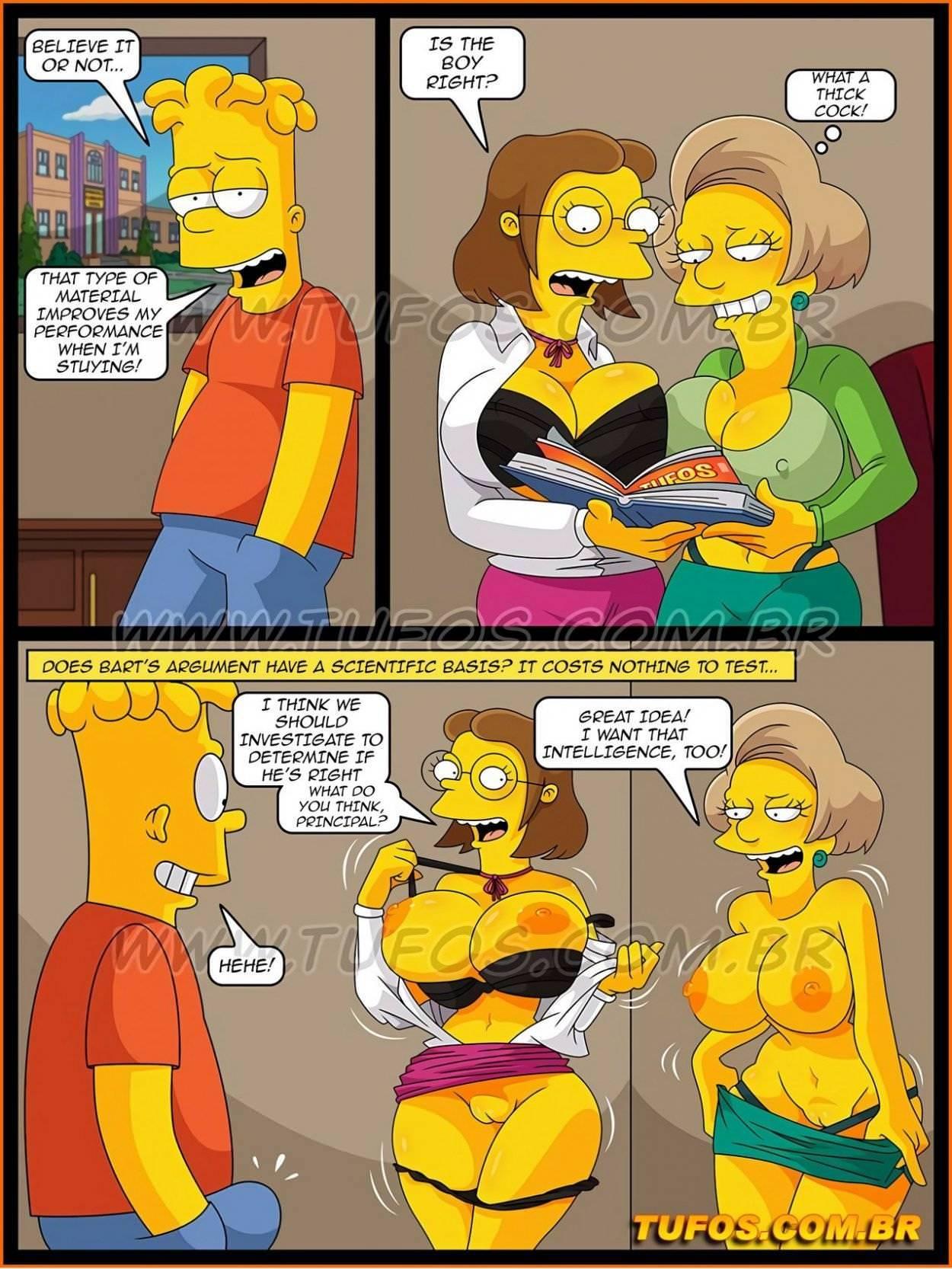 Porn manga simpsons Simpsons porn