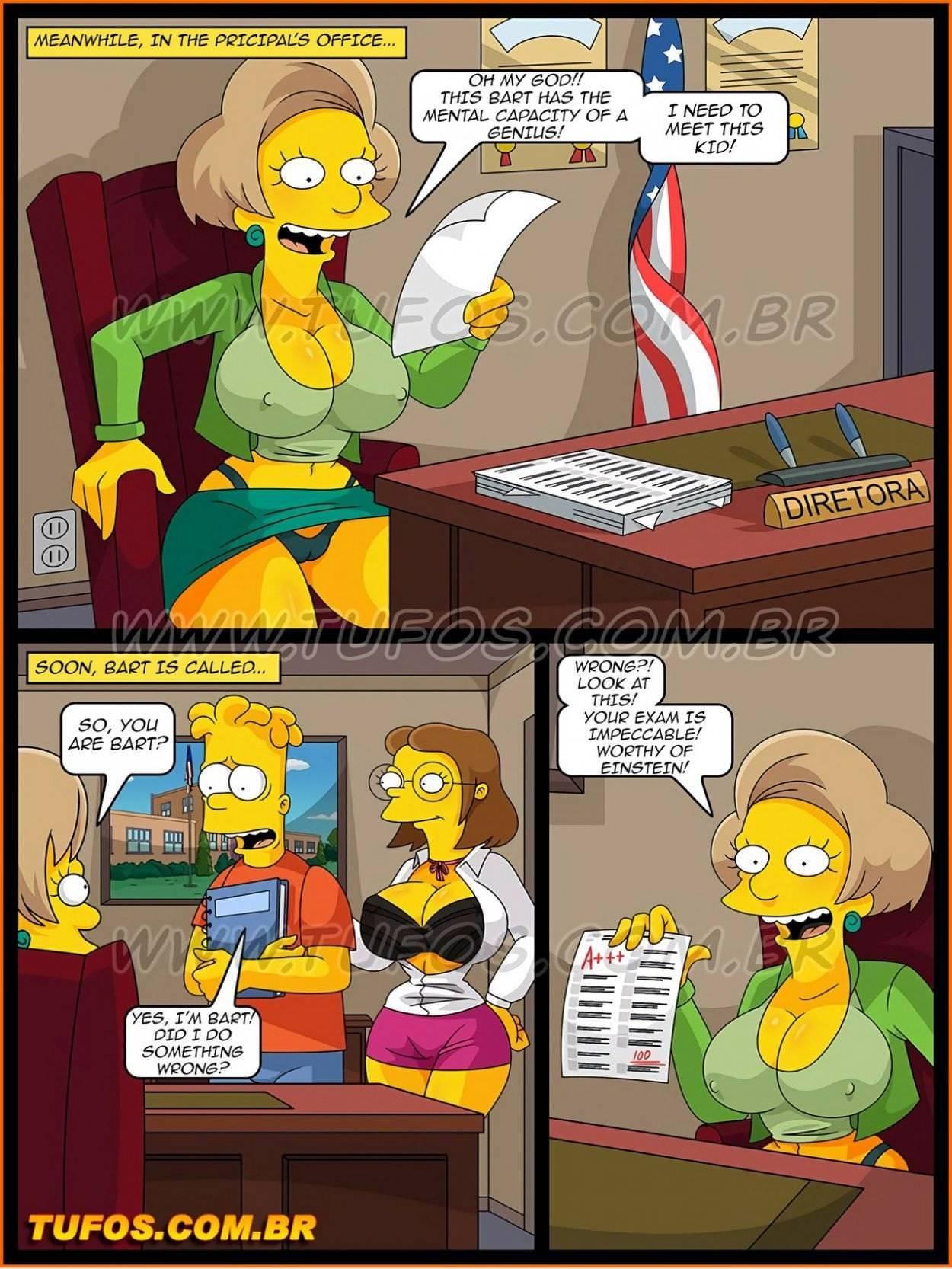 Comic porn simpsons Simpsons porn