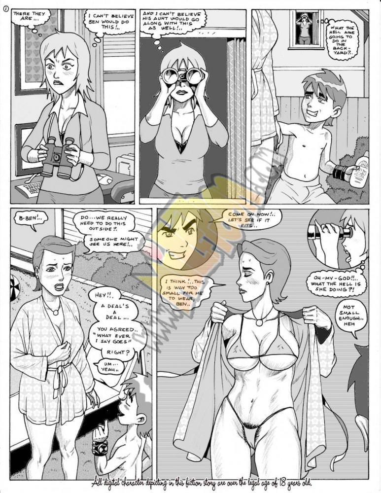 Ben10 Porn Comics
